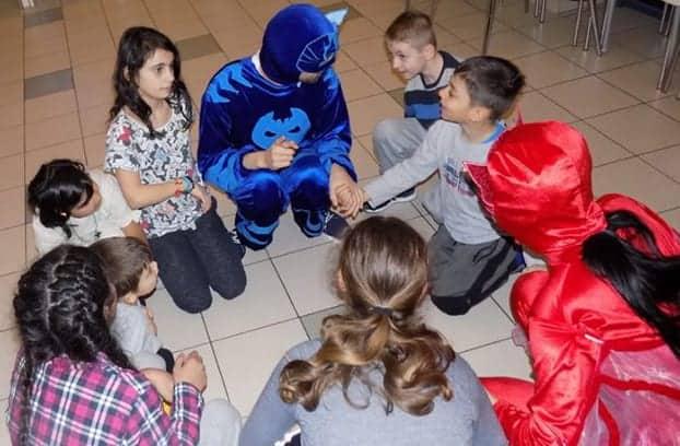 Petrecere cu copiii de la Fundatia Filantropica Metropolis